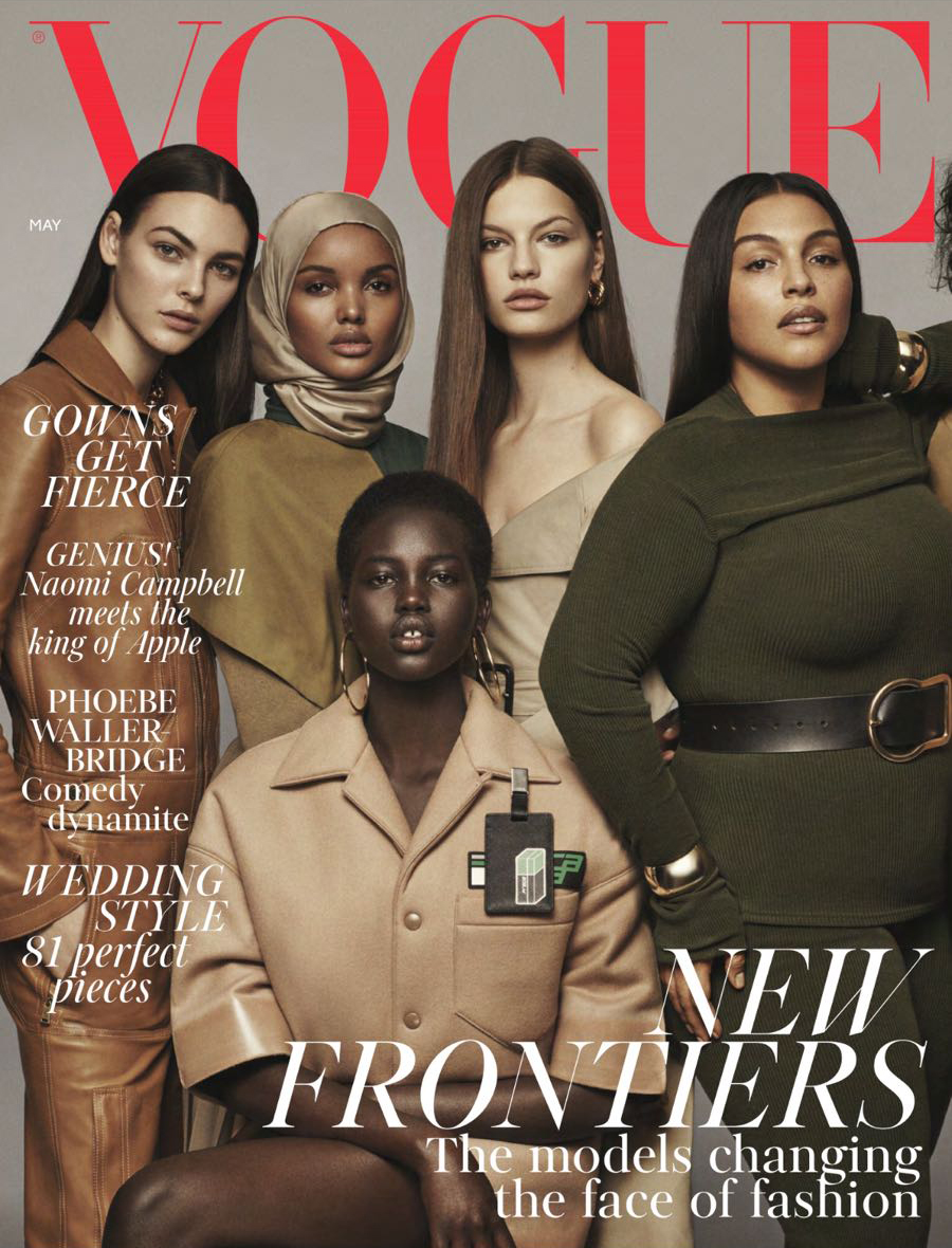 Vogue May 2018 cover