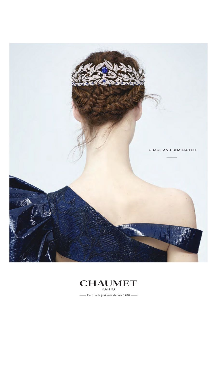 Chaumet Jewellery Advert Vogue
