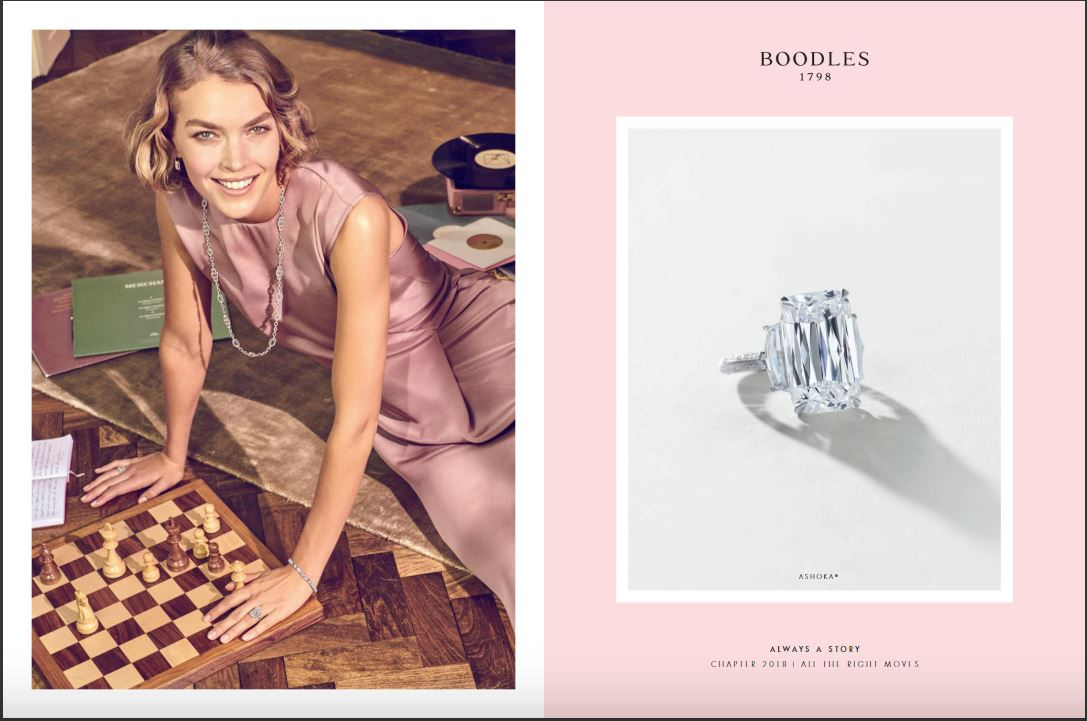 Boodles Jewellery advert